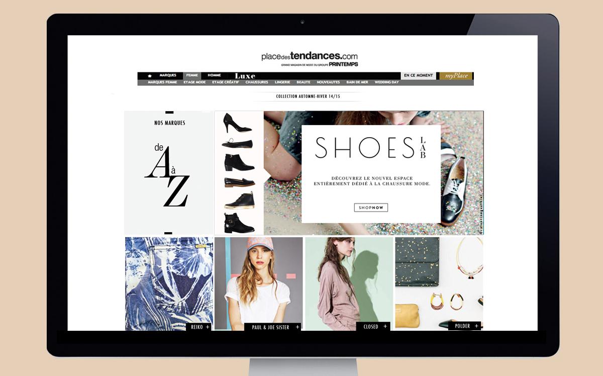 shoes lab - studio doux - identité visuelle