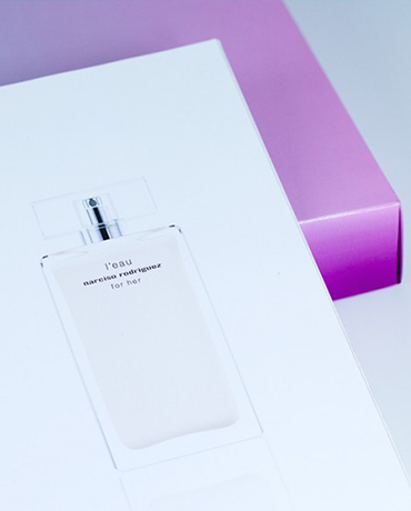 NARCISO RODRIGUEZ · L'EAU FOR HER