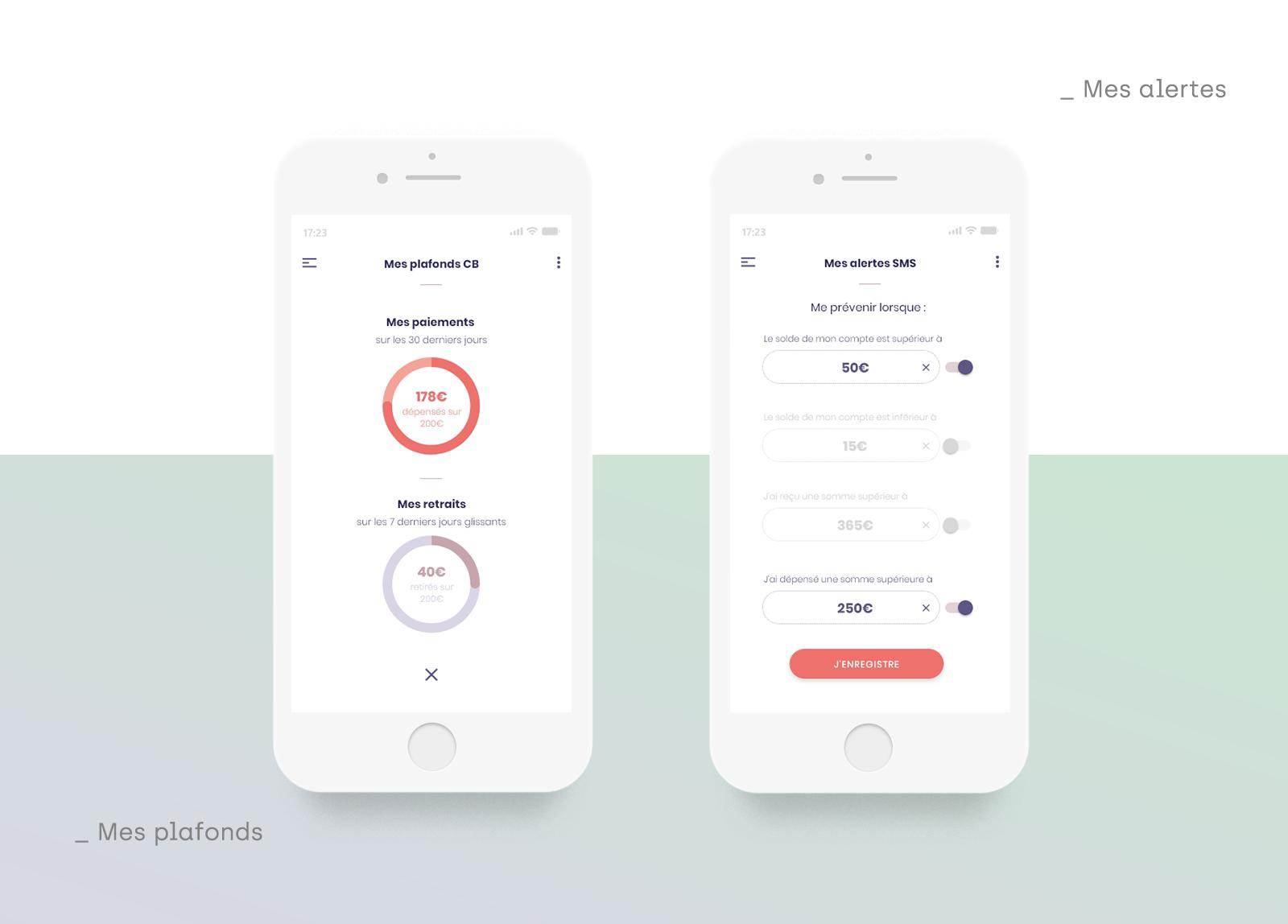 UI design - Kador - Anne Gautier