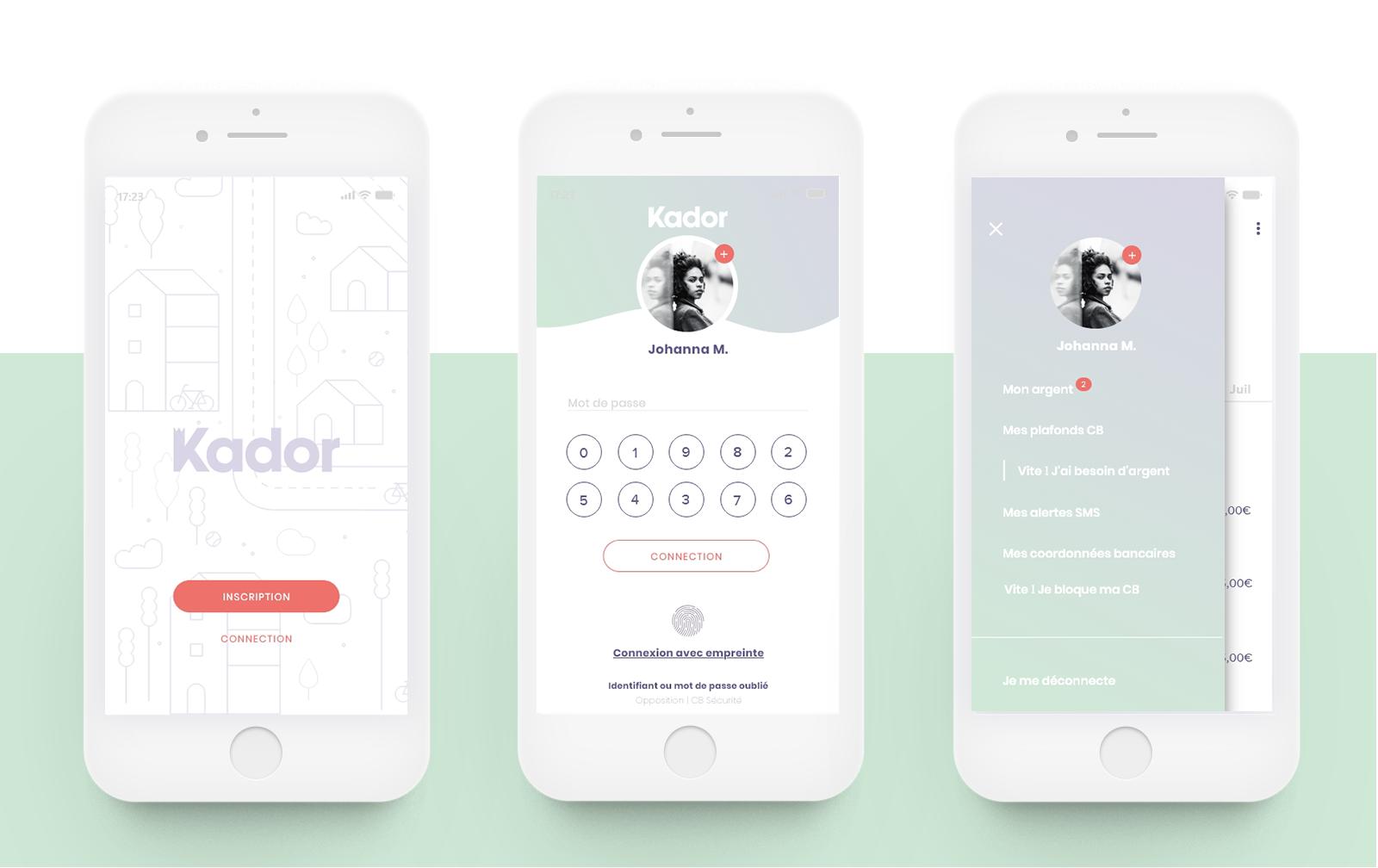 Kador- Anne Gautier -UI / Identité visuelle